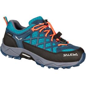 SALEWA MTN Trainer WP Sko Børn, blå/sort
